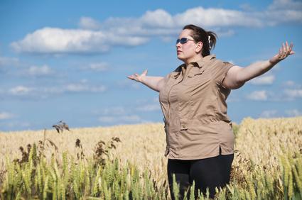 Meditation kann beim Kampf gegen die Pfunde helfen.
