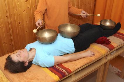 Geführte Klangmeditation/ Klangtherapie.