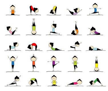 Die 25 bekanntesten Yoga-F.iguren
