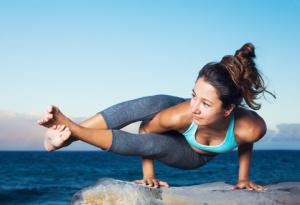 Yoga ist die wohl populärste Meditationsform und Teil von MBSR.