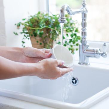 Abwasch als Achtsamkeitsübung